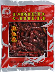 chili suszone, dried chilli