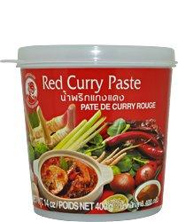 Pasta curry czerwona